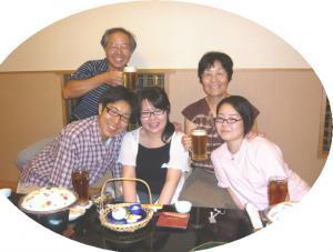 2008年夏の家族